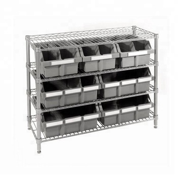 Heavy Duty Storage Drawers Shelves Plastic Bins Rack Buy