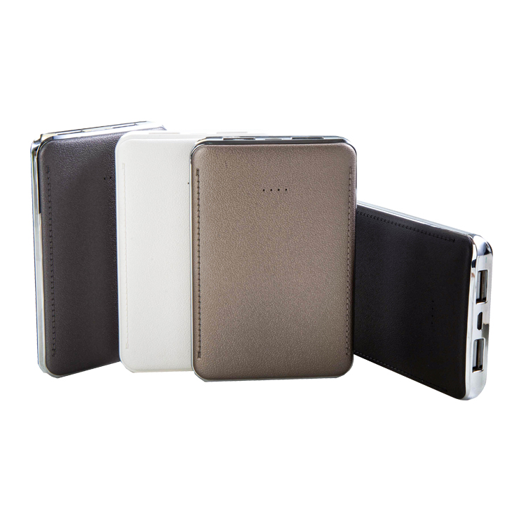 New Ultra Slim Portable 1 Port power bank made in CHINA 7800mAh