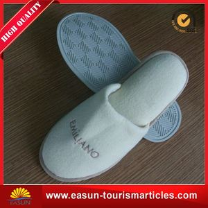 professional slippers inflight shoe accessories airline slippers disposable shower slippers