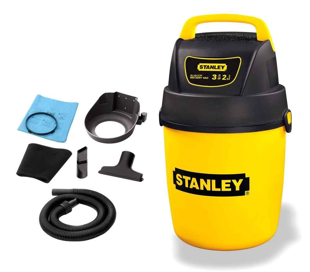 Wet/Dry Vac in Plastic with High Performance Motor