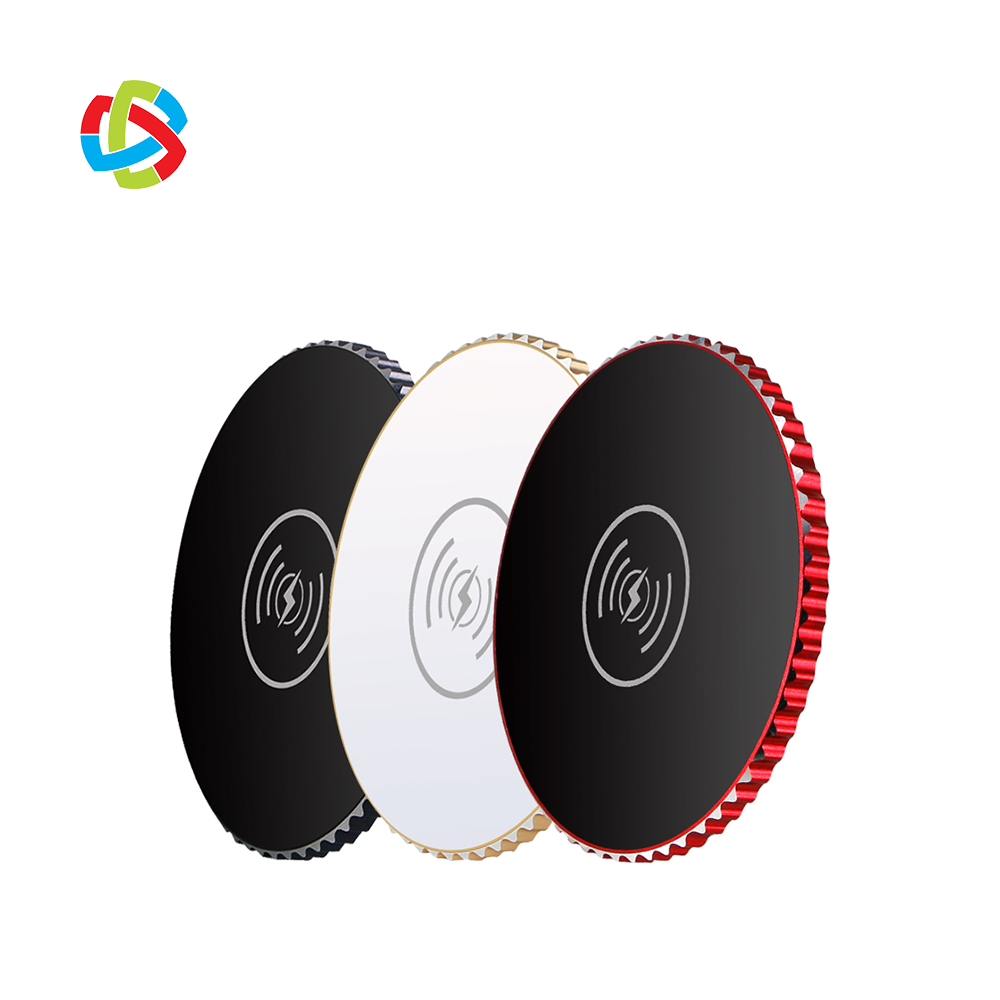 Wireless Charger Vanity Portable HLQ-I3 Mobile Phone Fast Charging Auto Mini Qi Smart Charger