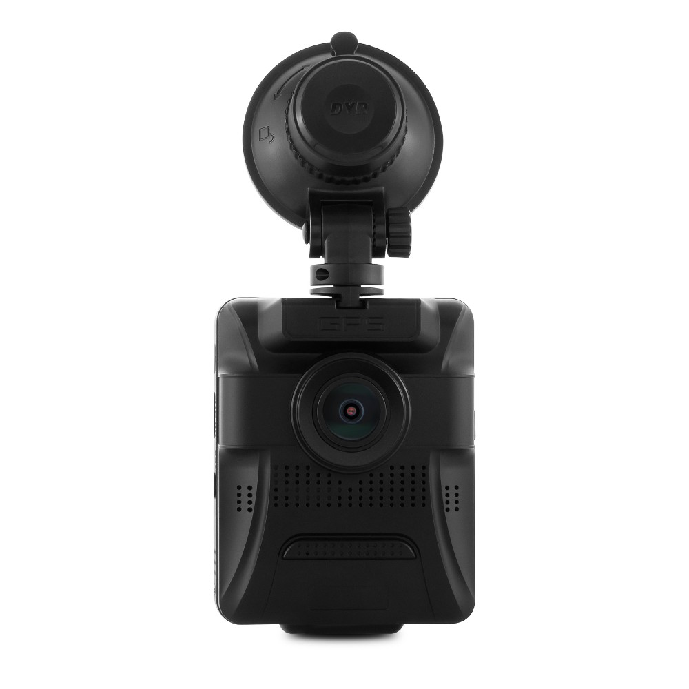 dual camera 1080p car dvr dashcam with gps function