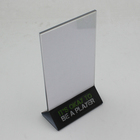 Triangle Table Top A3 A4 A5 A6 Insert Plastic Acrylic Sign Holder for Restaurant