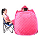 Pink color Mini portable sauna steam for foot
