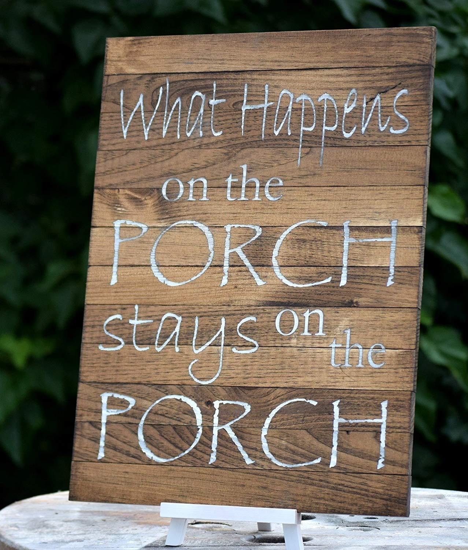 Front Porch Sign - Pallet Board Sign - Home Address Sign - Family Established Sign - Front Porch Decor - Front Porch Welcome Sign - Home Decor