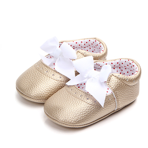 New design leather little girl baby girl shoes baby walking shoes
