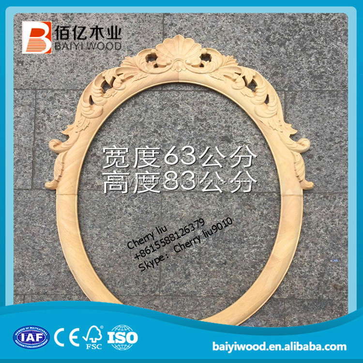 wood carving mouldings decoration timber applique and onlay