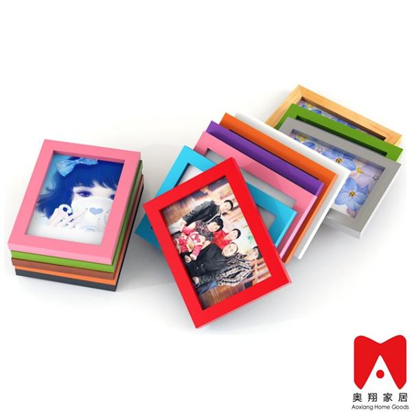 4x6 5x7 6x8 8x10 ps de madera o mdf imagen marco de fotos para la ...