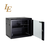 6U IT Wall Mount Network Server Data Cabinet Rack With Glass Door