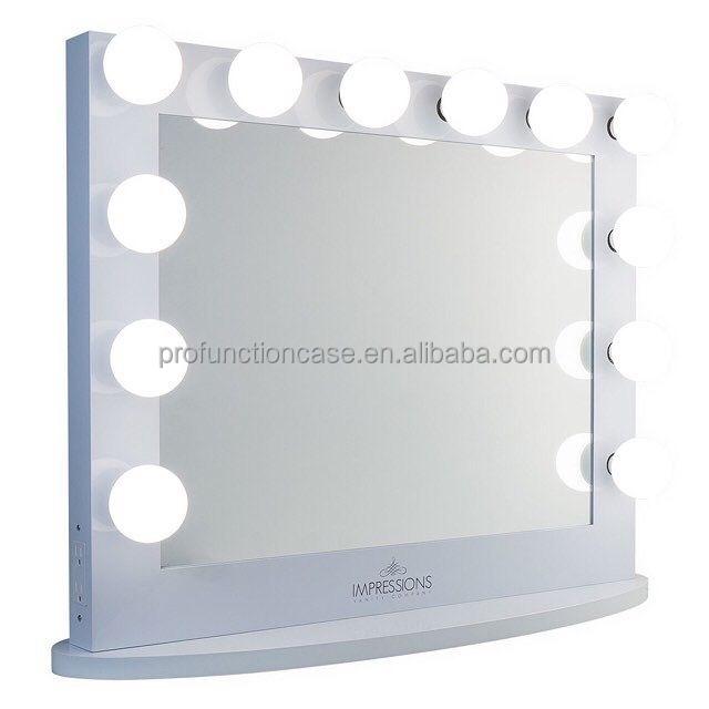 professional studio make up spiegel mit led leuchten friseursalon spiegel mit beleuchtung. Black Bedroom Furniture Sets. Home Design Ideas