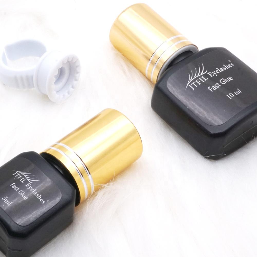 global lash extension private label eyelash glue adhesive, Black