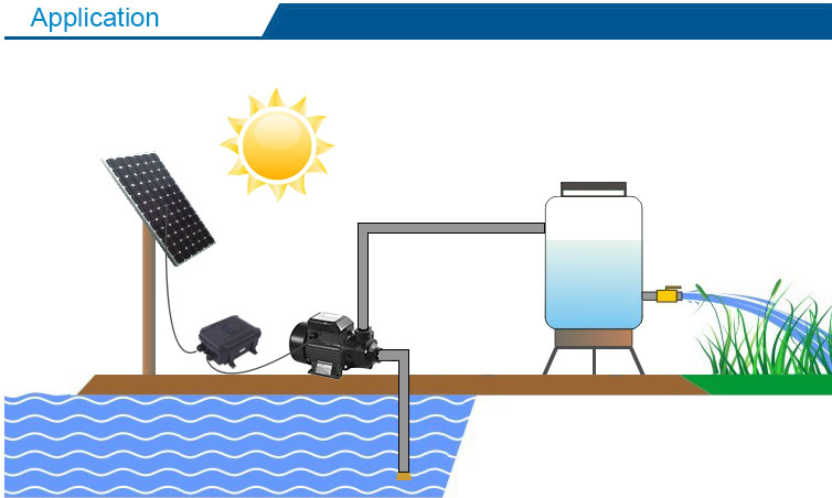 brushless surface solar pumps dc surface water pump with solar panel