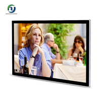 32 inch hot sale wall mounted advertising display lcd android smart TV with LG panel