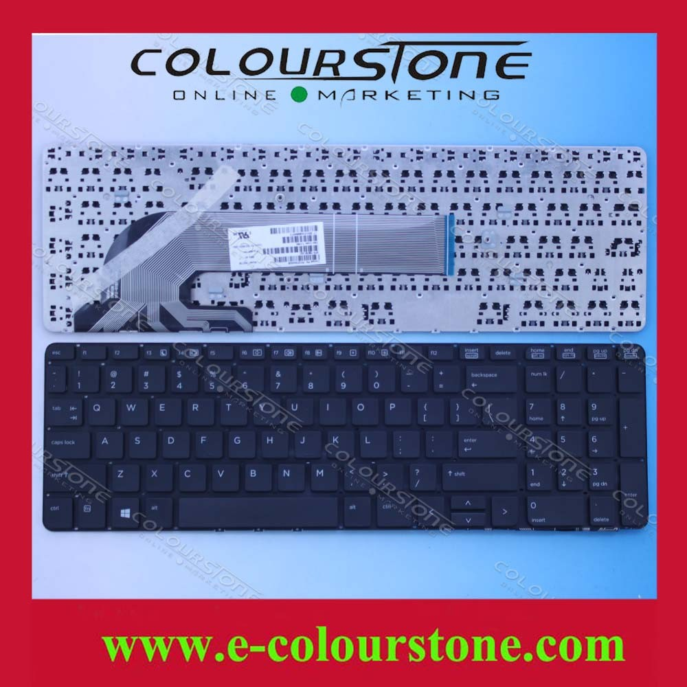 New Us Keyboard For Hp 450 455 G1 Us Black Pk1315a4a09 Sn7139 ...
