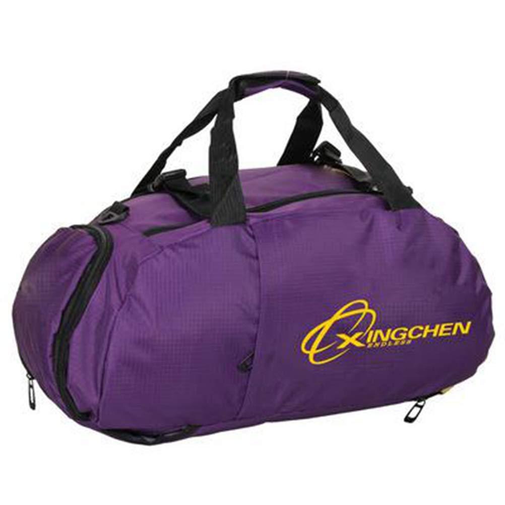 Get Quotations · Sports Bag Portable Shoulder Backpack Shoes Storage Men  Women Training Fitness Gym Bag Travel Bagpack 1c14174335ee6