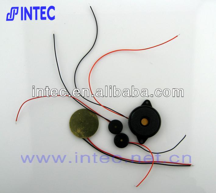 Circuito Zumbador Piezoelectrico : Electrónico zumbador piezoeléctrico