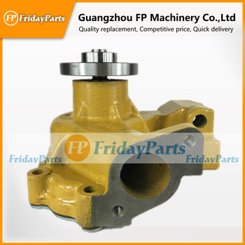 Aftermarket replacement excavator parts Water pump 6204-61-1304 for Diesel Engine 4D95