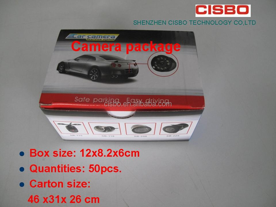 DC 12V Spanning Auto Reverse Camera Type Auto Back Up Rear View Camera