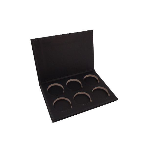 Full Black Printed 180g Cardboard Eye Shadow Box for Packaging and Display