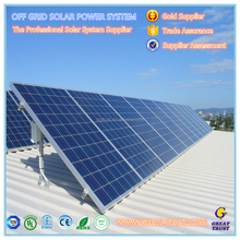 Grid tied roof ground pv mounting complete set 5 KW solar pv power system 5kw