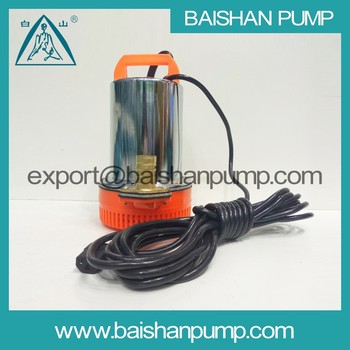 12 Volt High Pressure Solar Water Pumping Dc Submersible