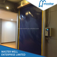 PVC Auto Repair Fast Rolling Door/Roller Door/Roll Up Door