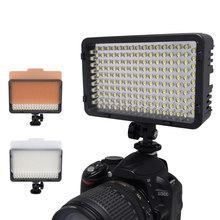 Mcoplus 130 LED Video Light for Canon Nikon Sony Pentax Panasonic Samsung Olympus & DV Camera Comcorder VS CN-126