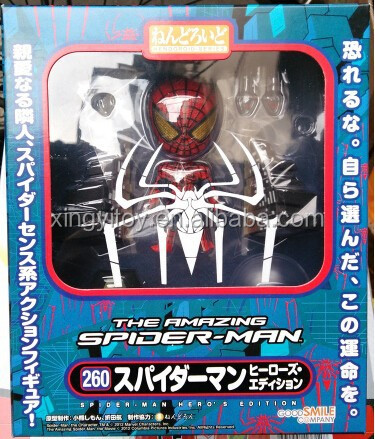 "NIB Hot Good Smile Nendoroid 260 The Amazing Spider Man 4"" Action Figure"