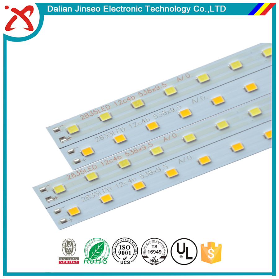 Blank pcb smd 90 view angle 5v led flexible strips