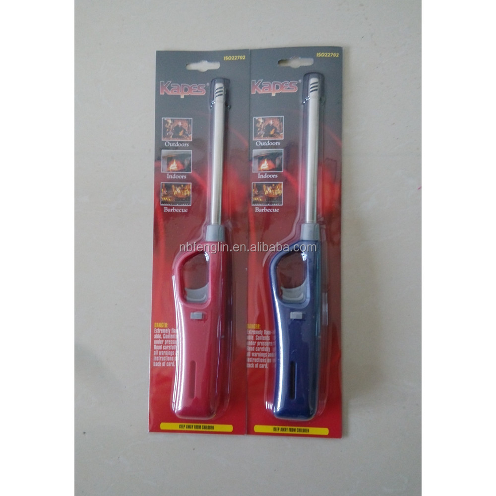 china factory plastic BBQ customer butane lighter