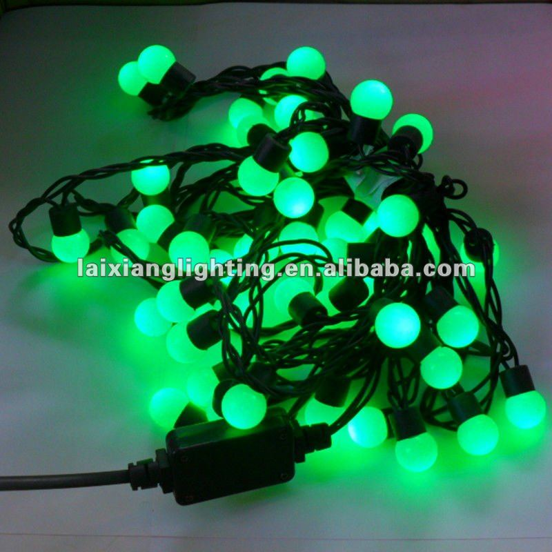 2012 new hot 5m 50leds green string blub light