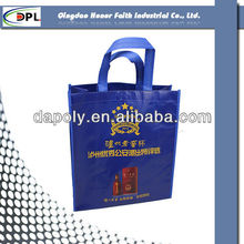 cheap fashion non woven bags free logo/ heat press non-woven bag/ eco friendly tote laminated non woven