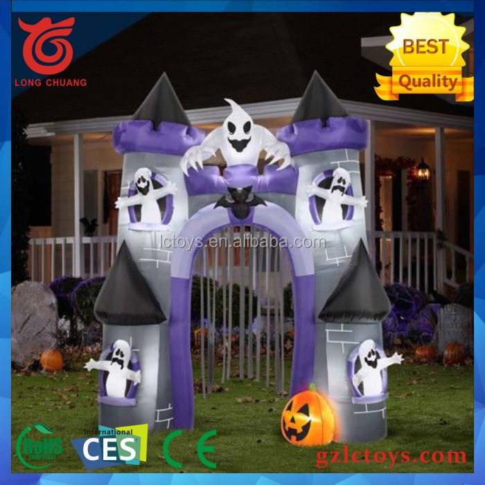 2017 haunted house and witch dead tree yard decoration - Decoracion halloween 2017 ...