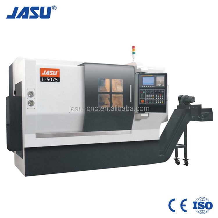 JASU L-5075 Precision Linear Guideway Metalworking machine CNC turning lathe
