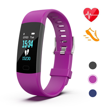 Fit Bit health Watch, Smart Bluetooth Bracelet, Fitness Track Band With Heart Rate Monitor