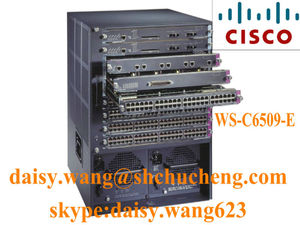 Cisco Catalyst 6500 Series Chassis Switch WS-C6509-E