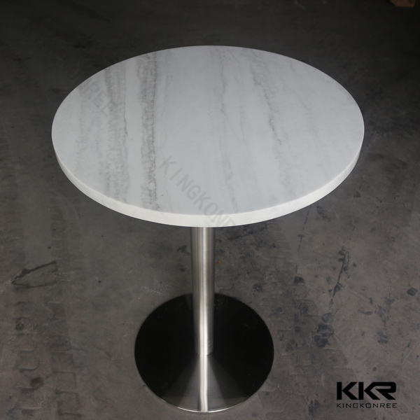 chinese cafe shop furniture import solid surface small table