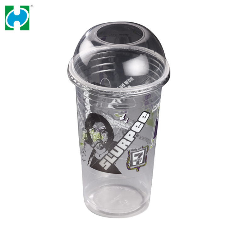 Wholesale Custom Logo Drinking Cup 32 Oz Eco-friendly Colored Plastic Disposable Cups