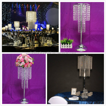 High End Quality Crystal Wedding Table Tree Centerpiece For Party Decoration