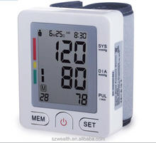 FDA approved free digital wrist watch blood pressure monitor