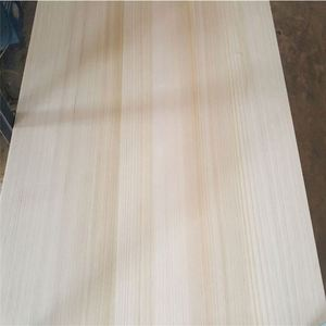Factory Directly Sale AA Grade Paulownia Cedar Solid Wood Jointed Board