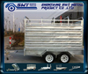 International cattle car full trailer for fully welded