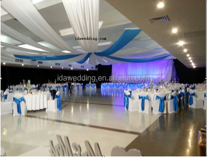 dcoration de mariage plafond drap avec hoop hangin facilement - Drap Plafond Mariage