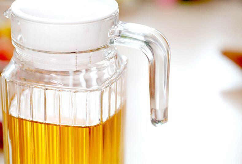 rechteck glas saftbeh lter glas wasserkrug mit deckel und griff bild glas produkt id. Black Bedroom Furniture Sets. Home Design Ideas