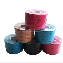 Factory Best Price Punched Kinesiology Tape Cure Holes Kinesiologie Tape Therapy Kinesiol Tape