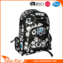 Manufacture Lovely design durable full print leisure gym backpack oem