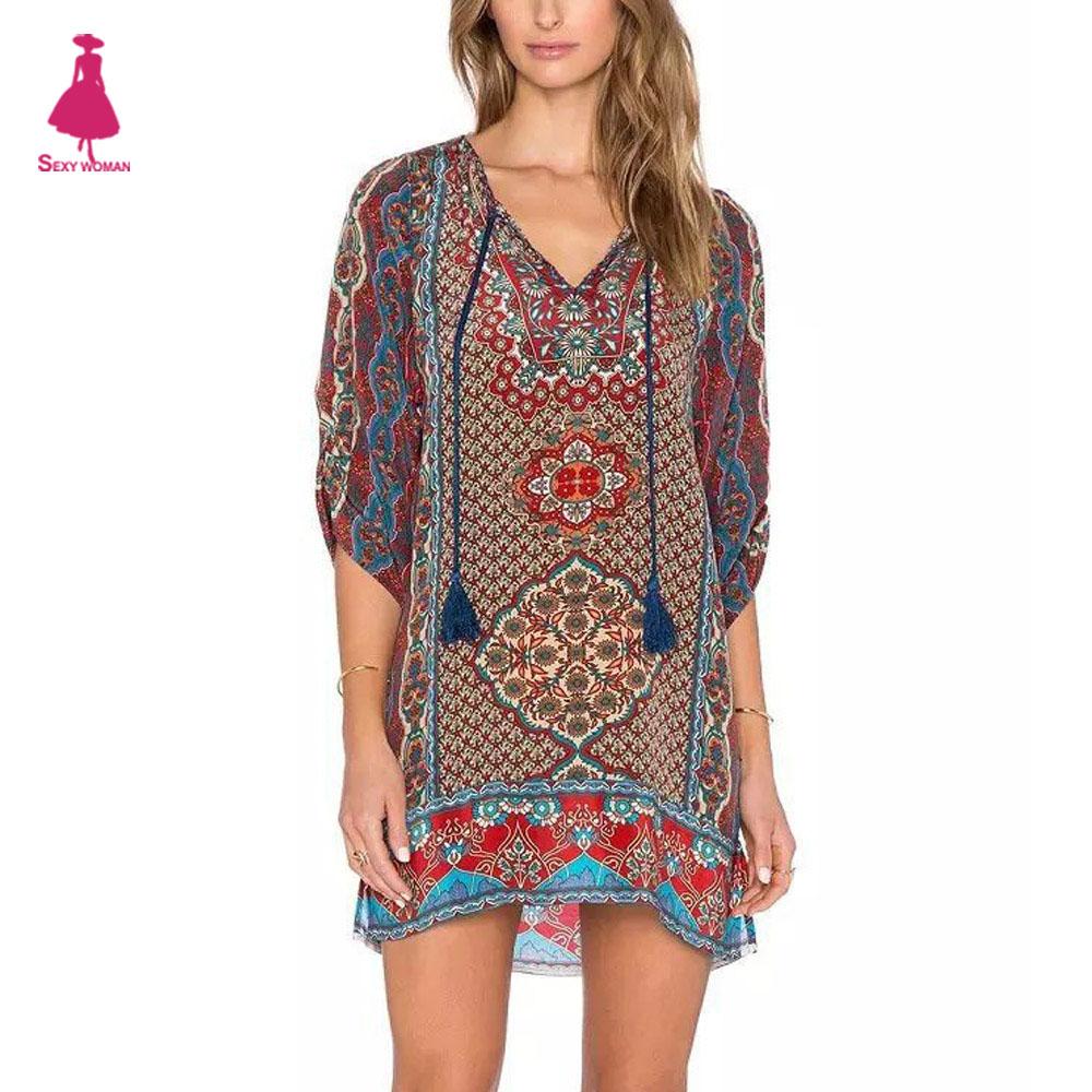 Achetez en Gros floral robe chasuble en Ligne à des ...