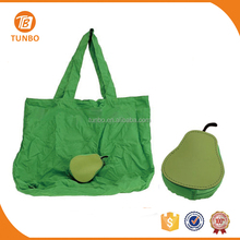 Wholesale Cheap Fruit Pattern Foldable Large Shopping Bag