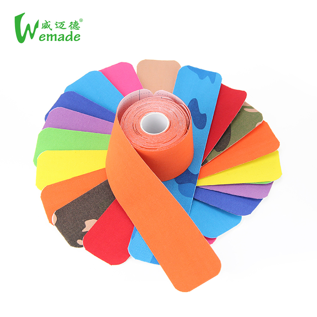strength tape kinesiology/Strengthtape 5M Rolls/sports kinesiology tape, 12 colors available;red;blue;black;purple etc