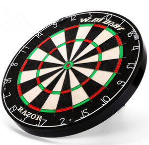 Professional Dartboard With Deluxe Wooden Cabinet Darts And Custom Logo